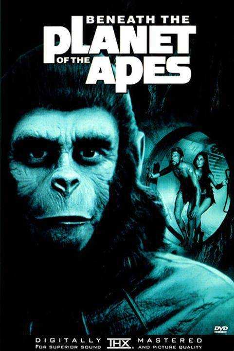 Beneath the Planet of the Apes (1970) poster