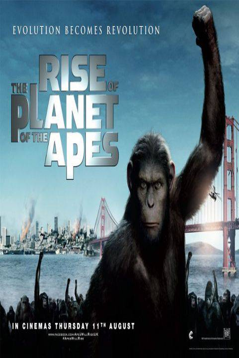 Rise of the Planet of the Apes (2011) poster