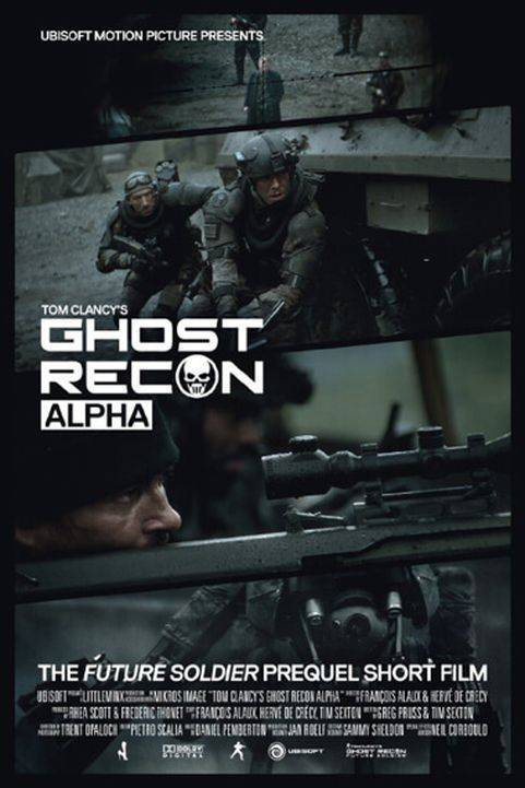 Ghost Recon: Alpha (2012) poster