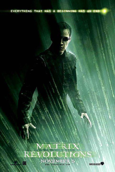 The Matrix Revolutions (2003) poster
