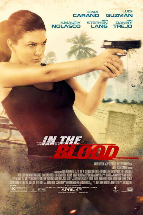 In the Blood (2014) poster