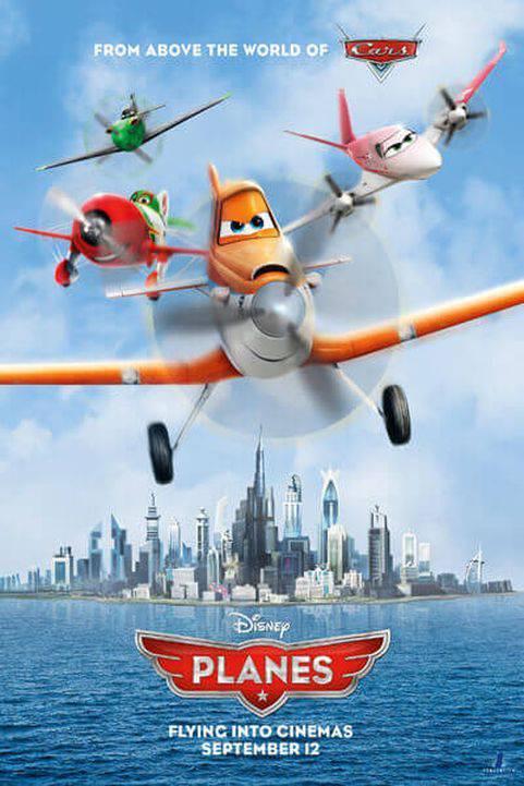 Planes 3D poster