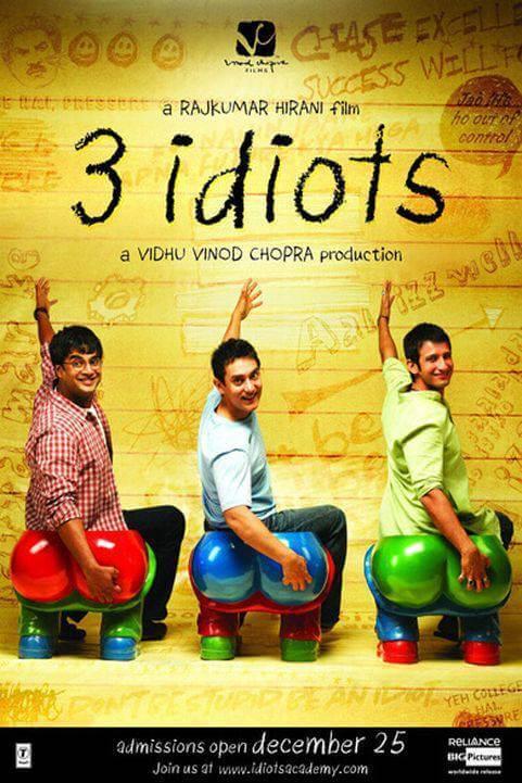 3 Idiots (2009) poster