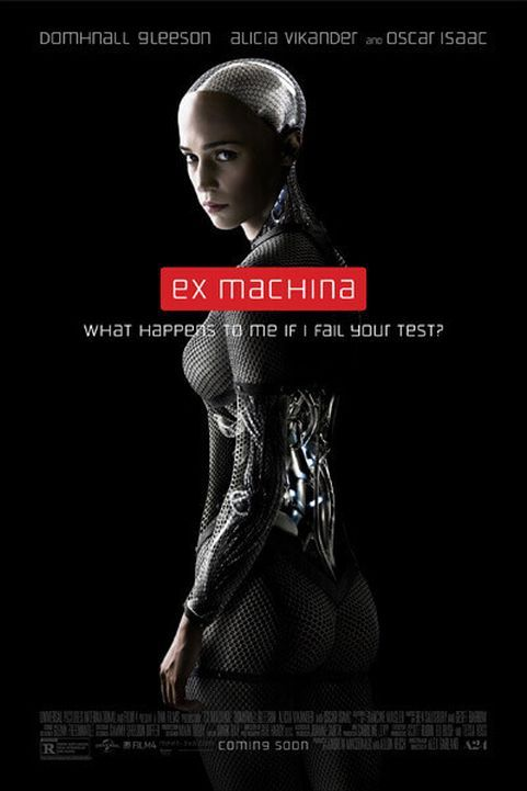 Ex Machina (2015) poster