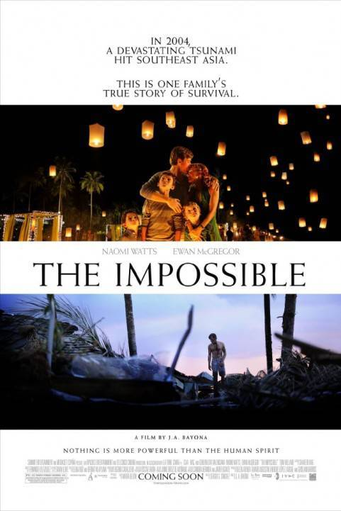 The Impossible (2012) poster