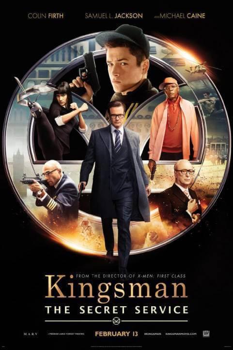 Kingsman: The Secret Service (2014) poster