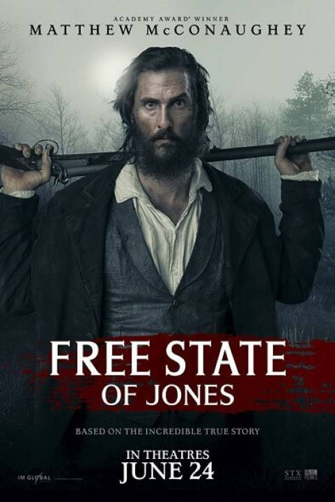 Free State of Jones (2016) poster
