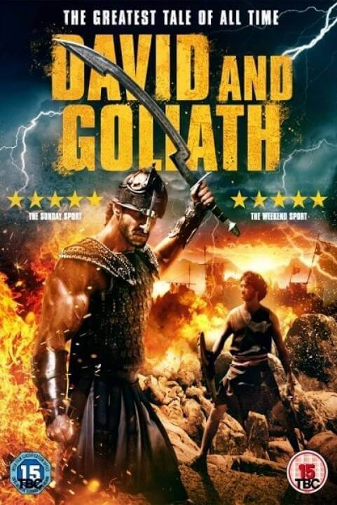 David and Goliath (2016) poster