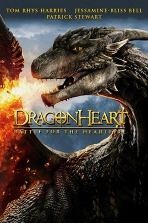 Dragonheart: Battle for the Heartfire (2017) poster