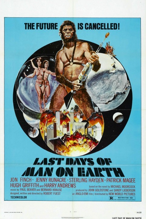 The Last Days of Man on Earth (1973) poster