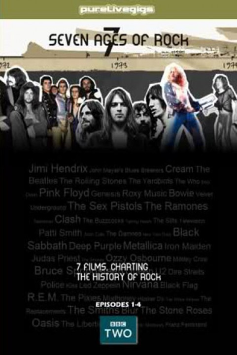BBC - Seven Ages of Rock poster