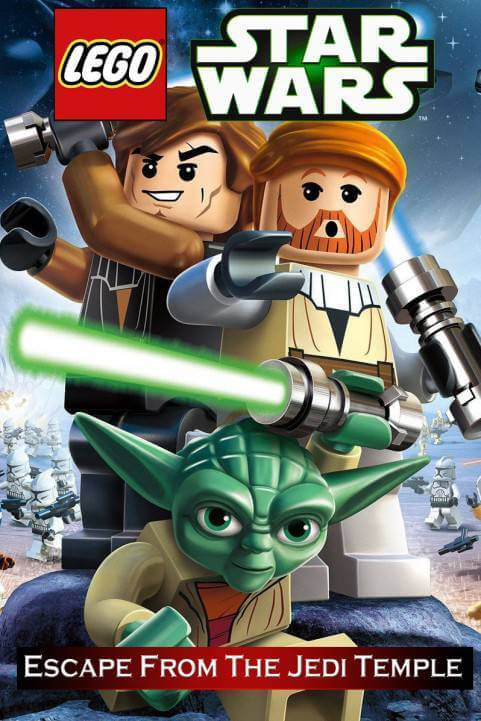 Lego Star Wars: The Yoda Chronicles: Episode IV:Escape From The Jedi Temple poster