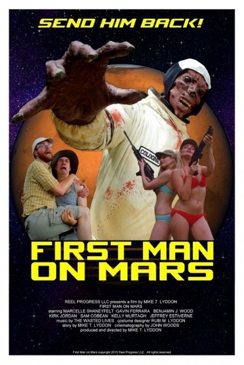 First Man on Mars (2016) poster