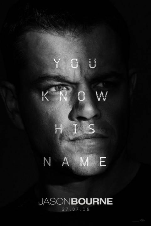 Jason Bourne (2016) poster