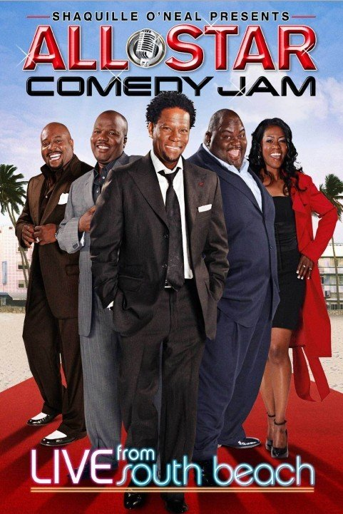 All Star Comedy Jam: Live from South Beach poster