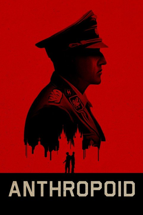 Anthropoid (2016) poster
