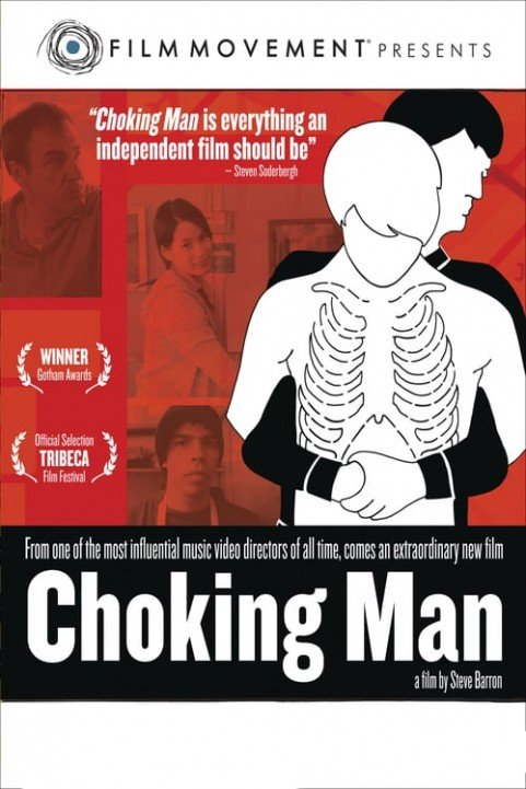 Choking Man poster