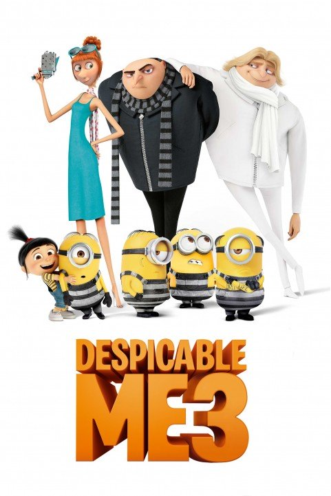 Despicable Me 3 (2017) poster
