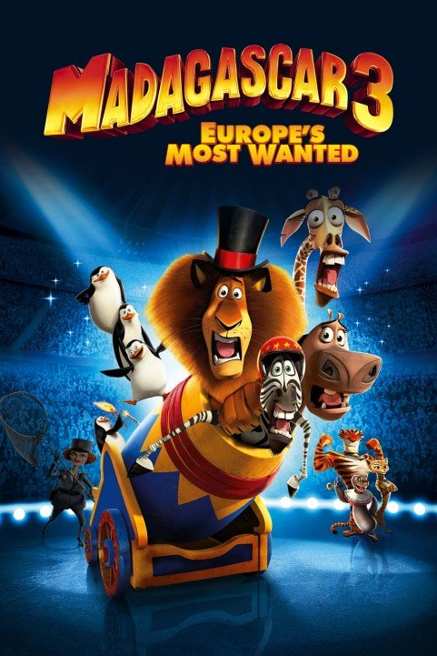 Madagascar 3: Europe's Most Wanted (2012) poster