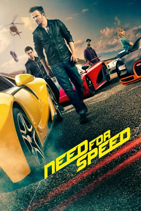 Need for Speed (2014) poster