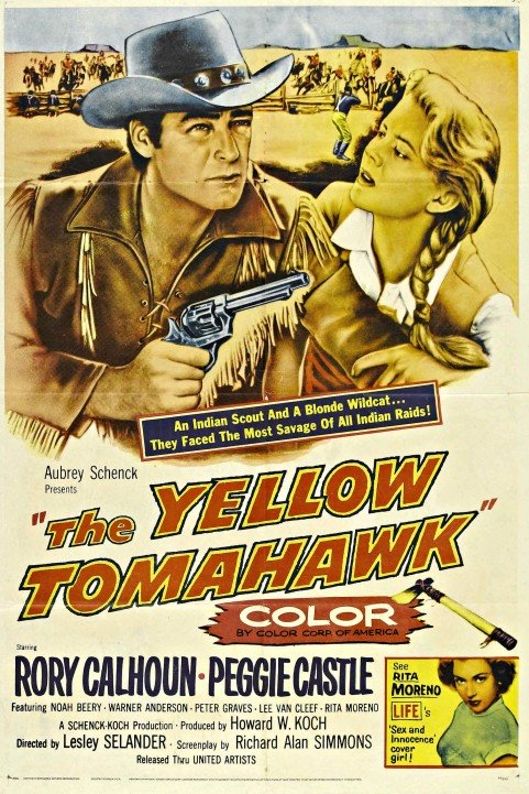 The Yellow Tomahawk poster