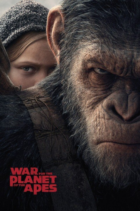 War for the Planet of the Apes (2017) poster