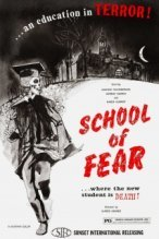School of Fear poster