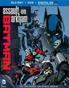 Batman Assault on Arkham (2014) poster