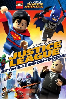 Lego DC Comics Super Heroes: Justice League – Attack of the Legion of Doom! poster