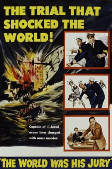 The World Was His Jury poster